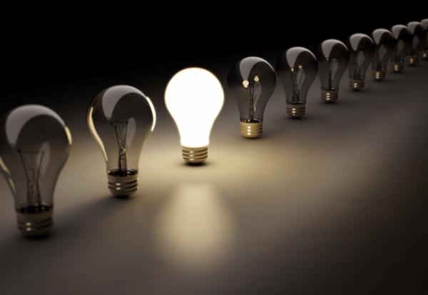 burnout light bulb