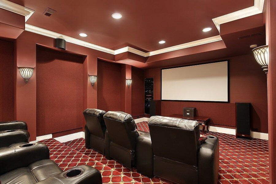 contemporary light home metro dc lighting photo theater