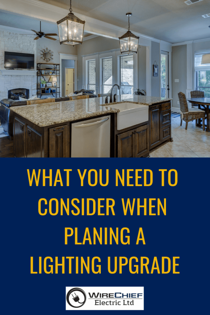 What you need to consider when planning a lighting upgrade | Considerations When Choosing Contemporary Lighting