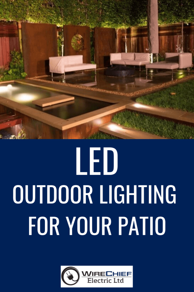 LED Outdoor Lighting For Your Patio