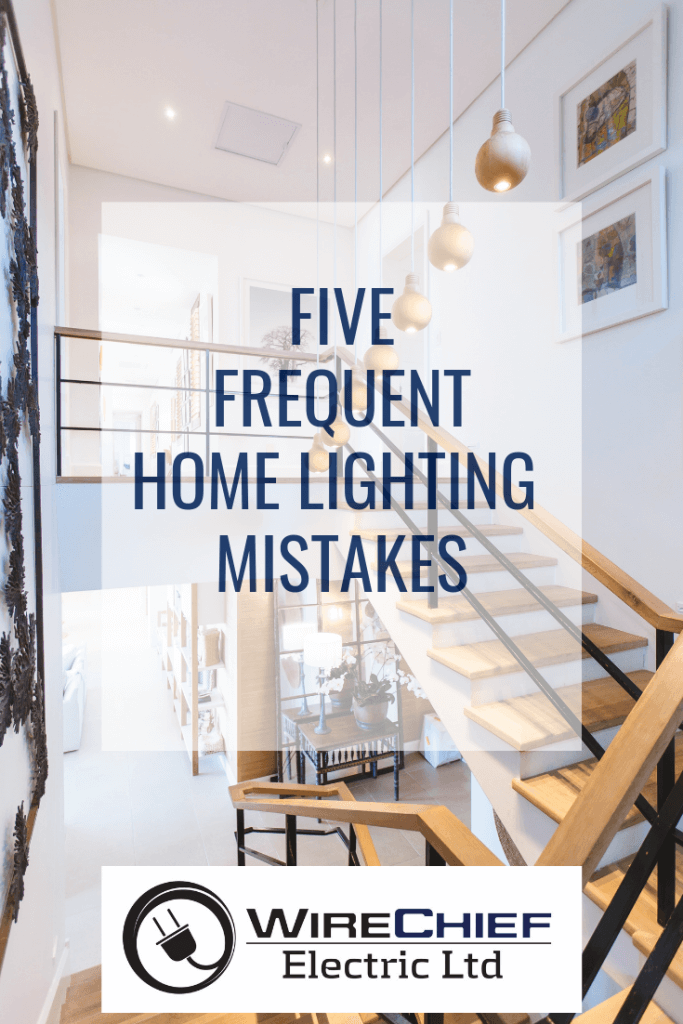 Five Frequent Home Lighting Mistakes
