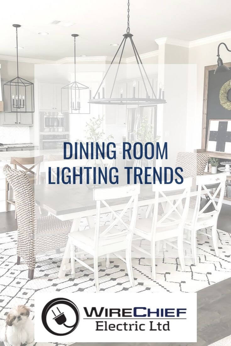 dinning room lighting trends