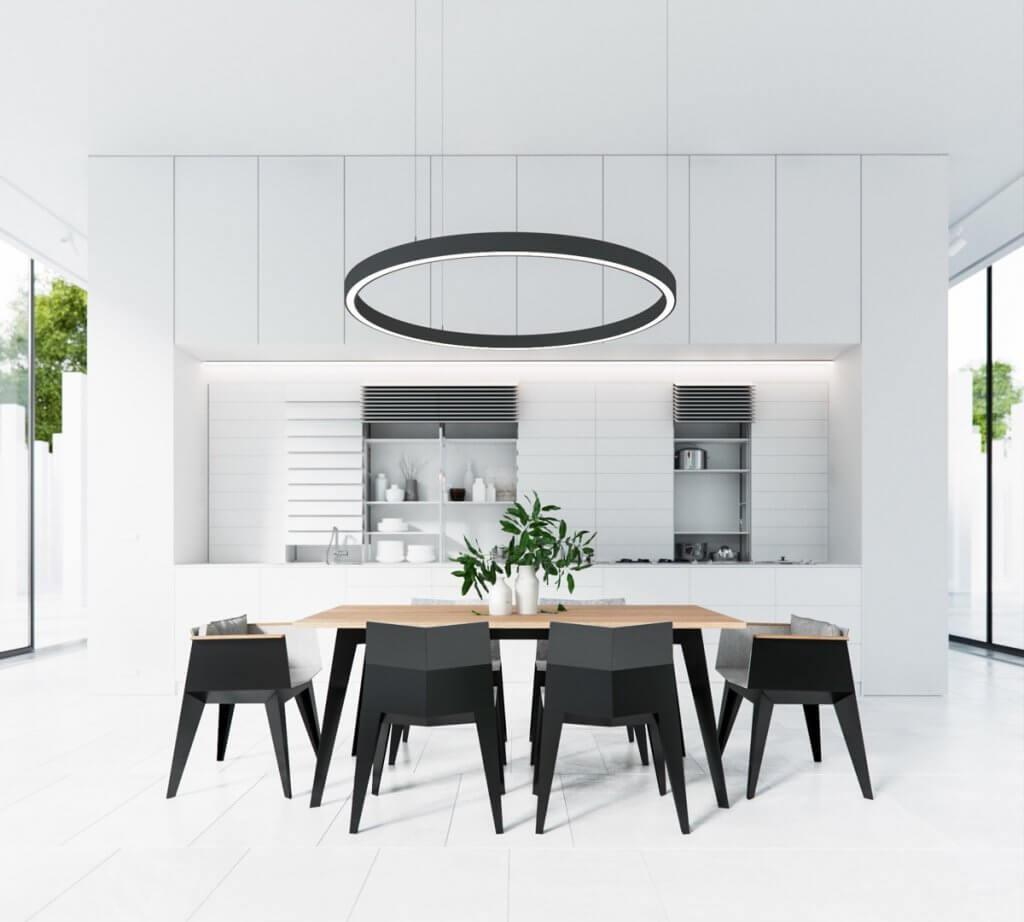 dining room lighting trends oversized light fixtures